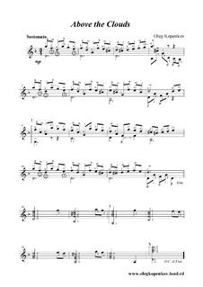 Над облаками, Op.1: Над облаками by Олег Копенков