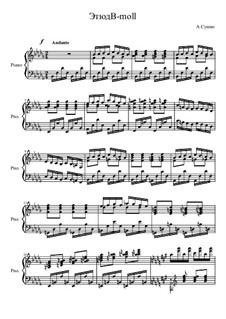 Этюд B-moll, Op.5: Этюд B-moll by Александр Сушко