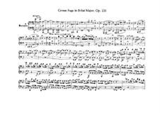 Большая фуга си-бемоль мажор для струнного квартета, Op.133: Версия для фортепиано в четыре руки Г. Ульриха и Р. Виттманна by Людвиг ван Бетховен