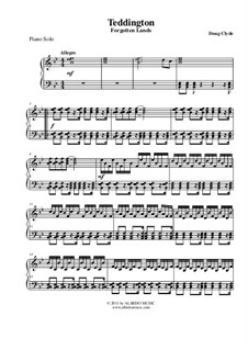 Forgotten Lands: Teddington (Piano Solo), AMSM96 by Doug Clyde