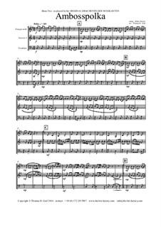 Amboss Polka: For brass trio by Альберт Парлов
