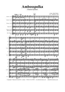 Amboss Polka: For clarinet quintet by Альберт Парлов