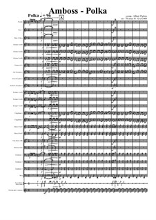 Amboss Polka: For concert band by Альберт Парлов