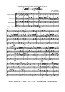 Amboss Polka: For saxophone quartet by Альберт Парлов