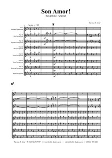 Son amor! - Samba: No.5 for saxophone quintet by Thomas Hans Graf