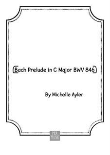 Прелюдия и фуга No.1 до мажор, BWV 846: Прелюдия by Иоганн Себастьян Бах