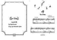 К Элизе, для фортепиано, WoO 59: Для одного исполнителя by Людвиг ван Бетховен