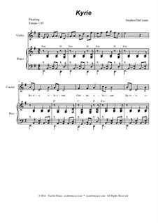 Mass of Our Lady of Guadalupe: For SATB and piano by Stephen DeCesare