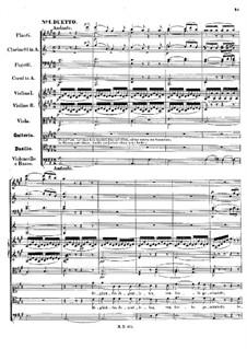 Свадьба Камачо, Op.10: Акт I, No.1-7 by Феликс Мендельсон-Бартольди
