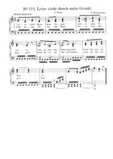 Шесть песен, Op.19a: No.5 Привет, для фортепиано by Феликс Мендельсон-Бартольди