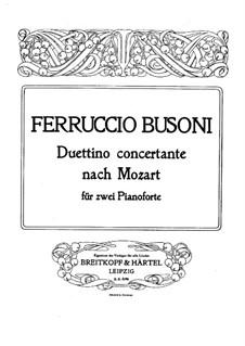 Концерт для фортепиано с оркестром No.19 фа мажор, K.459: Часть III. Переложение для двух фортепиано в четыре руки by Вольфганг Амадей Моцарт