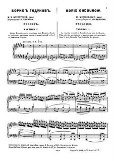 Фрагменты: Пролог. Версия для фортепиано by Модест Мусоргский