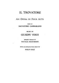 Вся опера: Клавир с вокальной партией by Джузеппе Верди