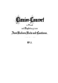 Концерт для клавесина и струнных инструментов No.1 ре минор, BWV 1052: Вторая версия by Иоганн Себастьян Бах