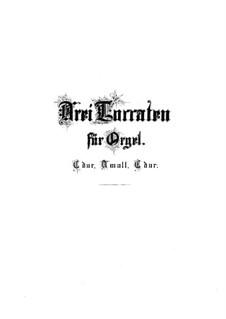 Токката, Адажио и Фуга до мажор, BWV 564: Для органа by Иоганн Себастьян Бах