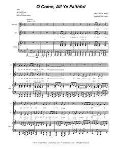 Придите к Младенцу: Duet for soprano and alto solo (with accompaniment track) by Джон Фрэнсис Уэйд