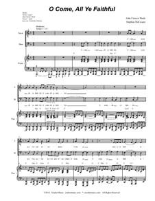 Придите к Младенцу: Duet for tenor and bass solo (with accompaniment track) by Джон Фрэнсис Уэйд