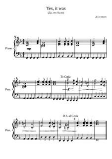 Да, это было, Op.12: Да, это было by Дмитрий Соловьёв