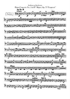 Весь концерт: Партия литавр by Людвиг ван Бетховен