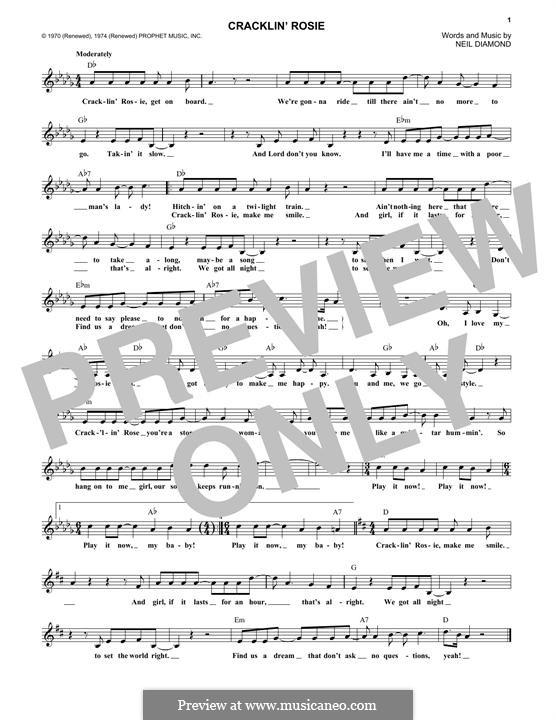 Cracklin' Rosie: Мелодия by Neil Diamond
