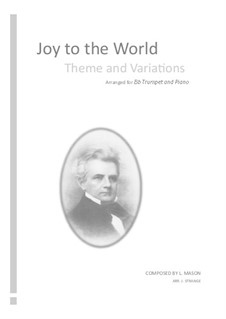Joy to the World: For Bb trumpet by Lowell Mason