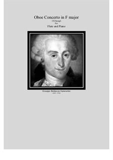 Flute Concerto in F Major, DTB16 D18: Версия для флейты и фортепиано, CS/Samg6 by Джузеппе Саммартини