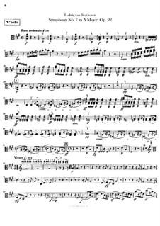 Вся симфония: Партии альтов by Людвиг ван Бетховен