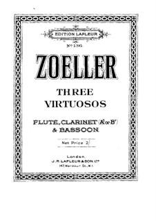 Three Virtuosos. Musical Joke: Партия флейты by Карли Цёллер