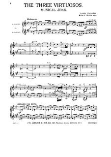 Three Virtuosos. Musical Joke: Партия кларнета by Карли Цёллер