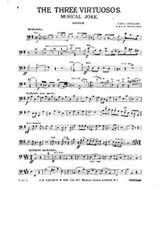 Three Virtuosos. Musical Joke: Партия фагота by Карли Цёллер