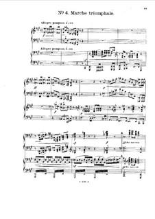 Сюита для двух фортепиано в четыре руки, Op.50: No.4-5 by Алджернон Эштон