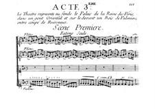 La Reine des Péris: Акт III by Жак Обер