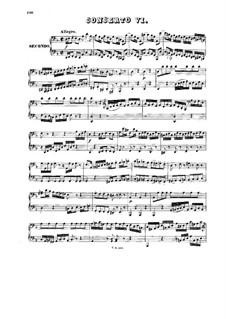 Концерт для клавесина и струнных инструментов No.1 ре минор, BWV 1052: Переложение для фортепиано в четыре руки – партии by Иоганн Себастьян Бах