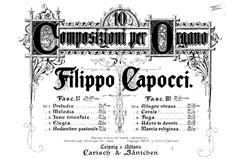 Десять пьес для органа: Часть I, No.1-5 by Филиппо Капоччи