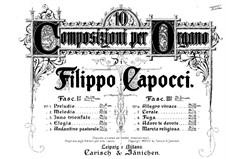 Десять пьес для органа: Часть II, No.6-10 by Филиппо Капоччи