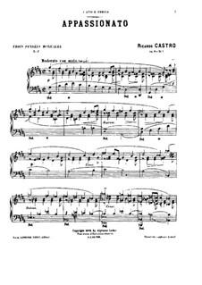 Trois Pensées Musicales, Op.8: Trois Pensées Musicales by Рикардо Кастро