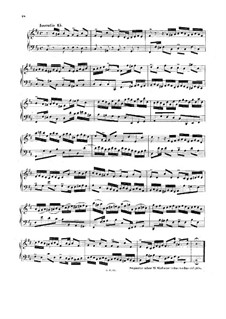 No.15 си минор, BWV 786: Для клавесина (или фортепиано) by Иоганн Себастьян Бах