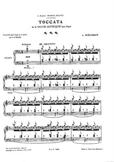 No.4 Токката: Для фортепиано by Леон Боэльман