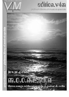 m.o.o.n.r.a.i.n: For guitar and cello by Jovan Pesec