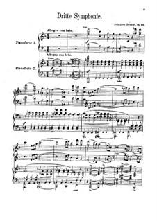 Все части: Версия для фортепиано в четыре руки by Иоганнес Брамс