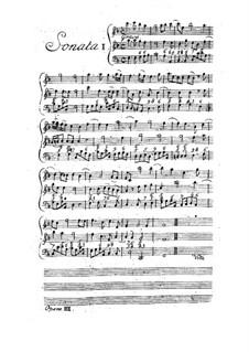 Двенадцать трио-сонат 'da chiesa' для двух скрипок и бассо континуо, Op.3: Сборник by Арканджело Корелли