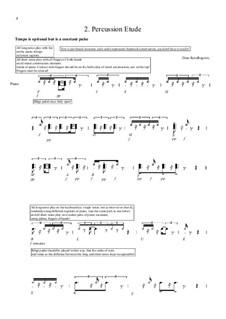Percussion étude: Percussion étude by Dino Residbegovic