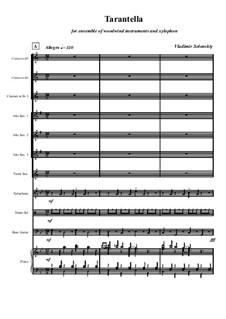 Тарантелла No.3: Тарантелла No.3 by Владимир Солонский