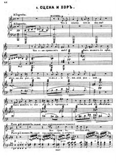 Кавказский пленник: No.4 Сцена и хор by Цезарь Кюи