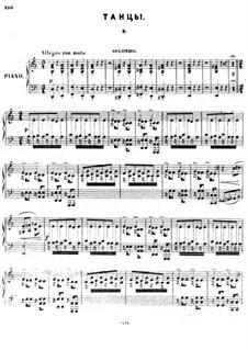 Кавказский пленник: No.18b Танцы by Цезарь Кюи