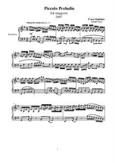 Prelude and Fantasia for Piano, CS107: Prelude and Fantasia for Piano by Santino Cara