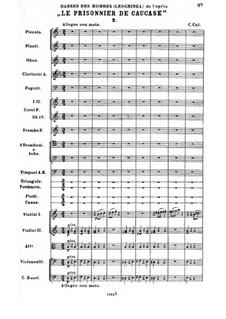 Кавказский пленник: Черкесский танец No.2 by Цезарь Кюи