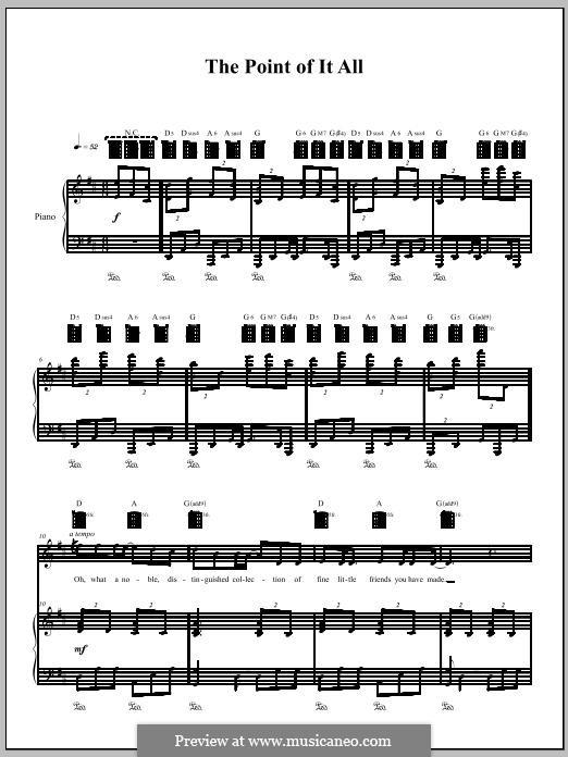 The Point of it All: Для голоса и фортепиано (или гитары) by Amanda Palmer
