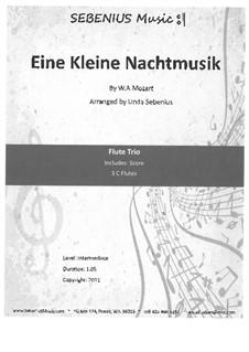 Аллегро: For flute trio by Вольфганг Амадей Моцарт