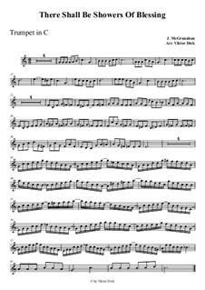 Благословений потоки: For trumpet in C by Джеймс  Макгранан